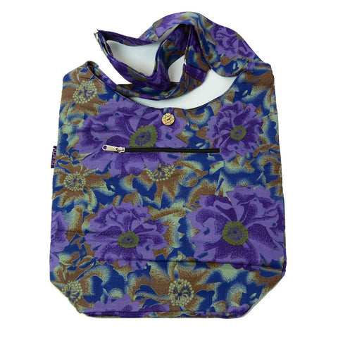 Cotton Bag For Everyday Beach Shopping Shopper Bag Purple Offer Photo