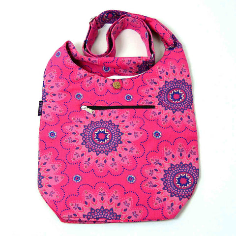 Cotton bag for everyday beach shopping shopper bag Rosa Nijens offer photo