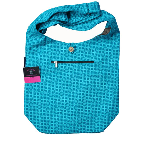 Schultertasche Canvas Small Shopper Tunesien