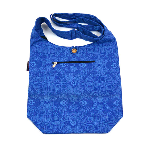 Nijens shoulder bag Small Shopper royal blue