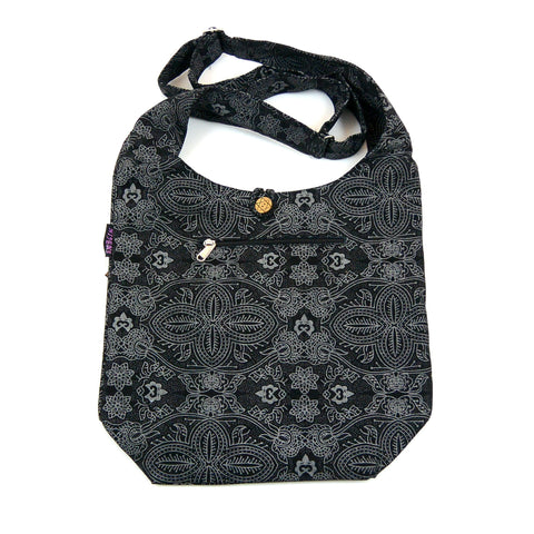 Nijens Shoulder Bag Small Shopper Black OM