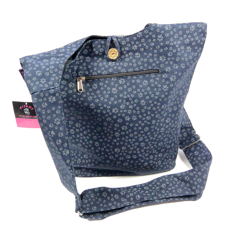 Shoulder bag Small Shopper Paws Indigo-54