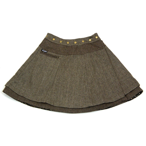 Winter skirt NijensSoufflé Tweed Long Tw-Tw-11