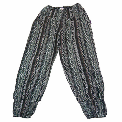 Pants gray-green Nijens