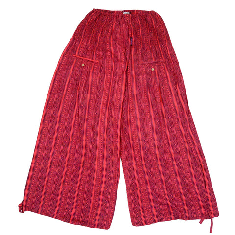 Nijens Wild leg Pants Tirra-45 in red