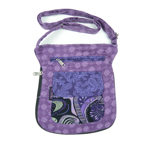 Shoulder bag NijensMatcka Violett 520-1