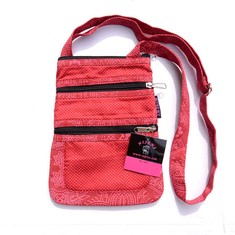 Cotton bag NijensTrimba red-10