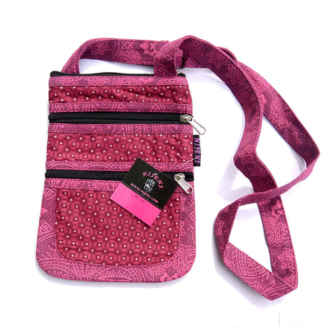 Cotton bag NijensTrimba magenta-08