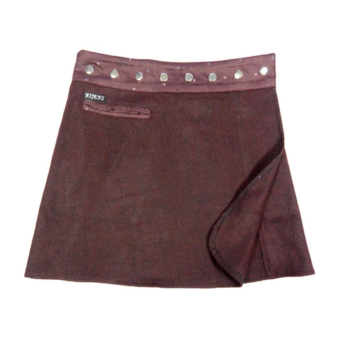 Nijens wrap skirt winter short skirt Berlin