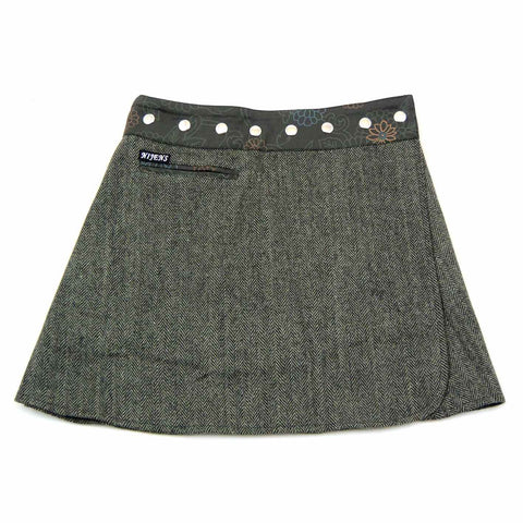 NijensTrufflin Tweed Short-01 Wickelrock