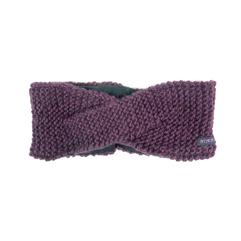 Nijens headband new wool plum Uronia 38