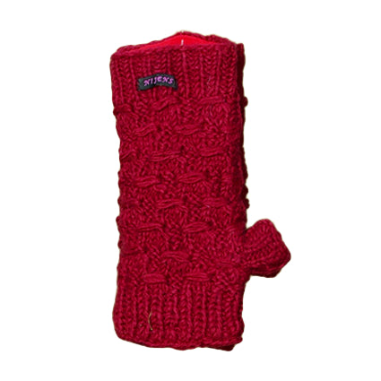 Nijens Venice wrist warmers set red-23