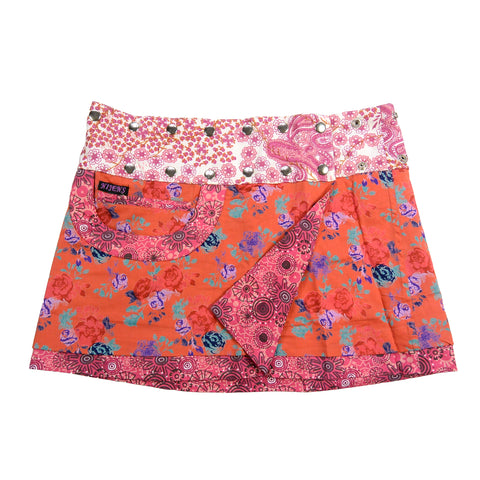 Mini Skirt NijensBagelon Short Skirt Rose 41