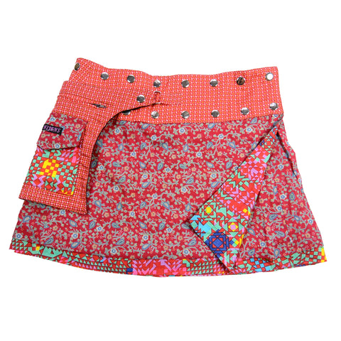 Sommerrock NijensCherly Pie Short Rot-Rosa 106