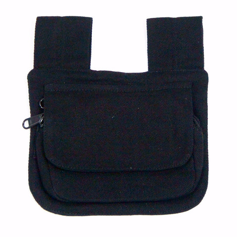 Black Small Side Bag Hip Bag Nijens Foto