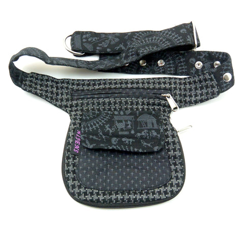 Fanny pack for reversible black bag Berlin image