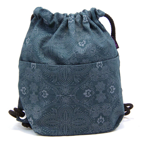 Backpack NijensPeethoo Bag - Petrol new 09