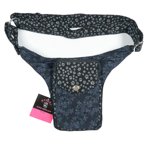 Hip bag for dog lovers Nijens Hamburg Pfoten