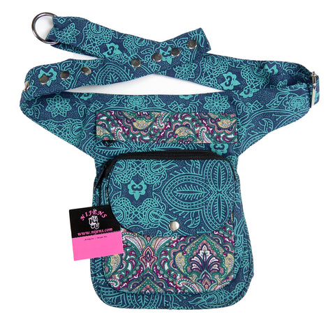 Hip pack for dog lovers NijensHannover Paisley 503