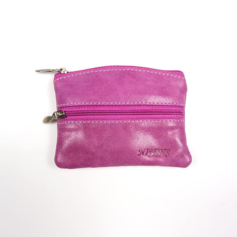 Nijens leather wallet purple B-3