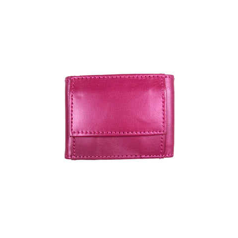 Nijens wallet leather pink