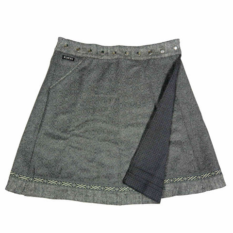 Reversible skirt XL NijensRocksana Tweed Midi 2B