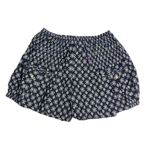 Nijens shorts made of high quality viscose charcoal