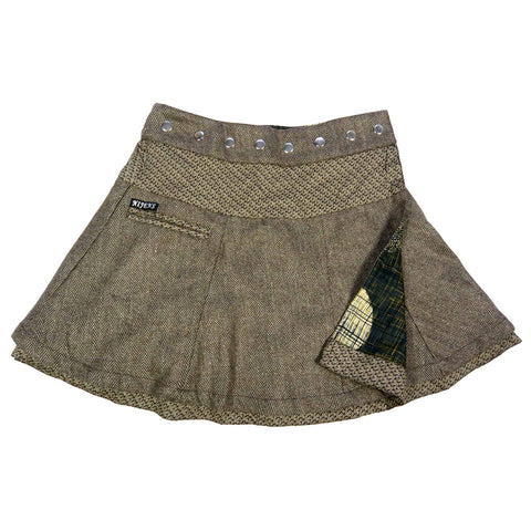 Reversible skirt Nijens Soufflé Tweed Short 47