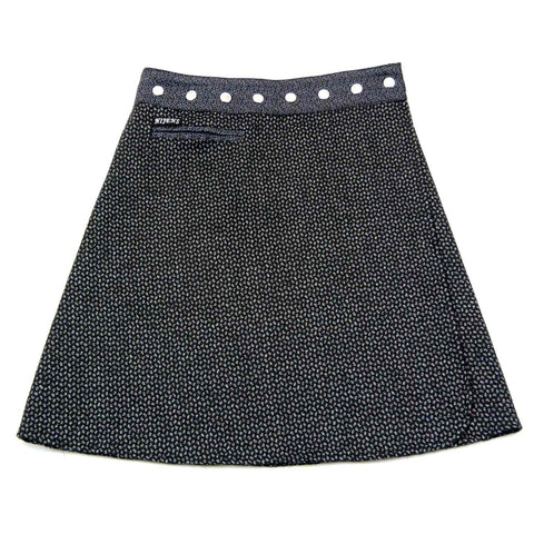 Wrap skirt NijensTrufflin Tweed Long-16