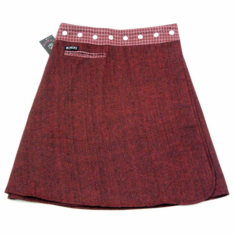 NijensTrufflin Tweed Long-20 Wickelrock XL