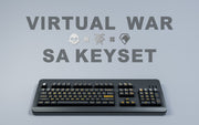 「GB」Maxkeys Virtual War SA Keycaps