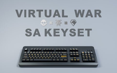 「GB」Maxkeys Virtual War SA Keycaps (4267724079243)