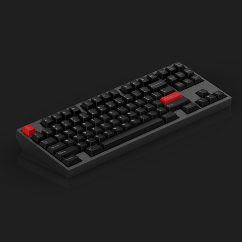 KBD8X MKII Black Custom Mechanical Keyboard Kit