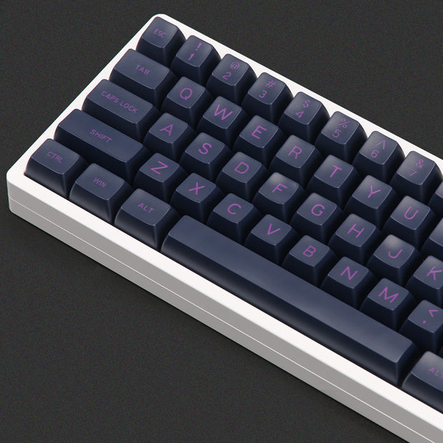 MAXKEY Dark Purple Sa Keycaps