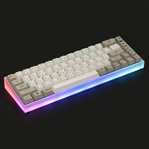 TOFU65 Acrylic mechanical keyboards Case (4451802022027)
