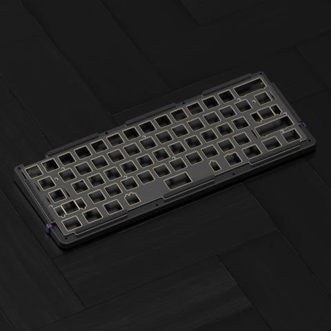 D60 Mechanical Keyboard Black Diy Kit