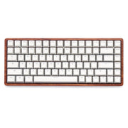 White BACKLIT TRANSLUCENT PUDDING KEYCAPS 143 KEYS