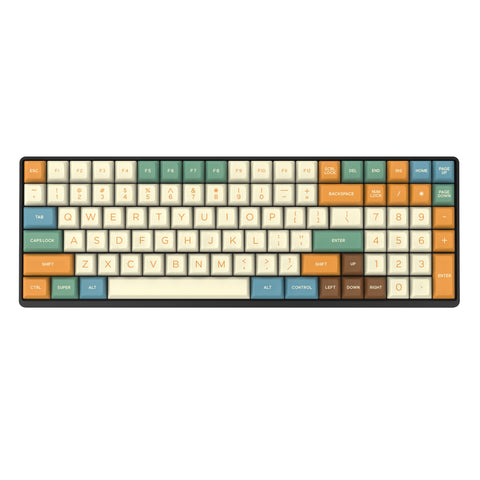 DOMIKEY DOUBLESHOT ABS SA RETRO GRAFFITI FULL SET KEYCAPS