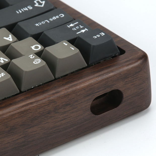 60% walnut case