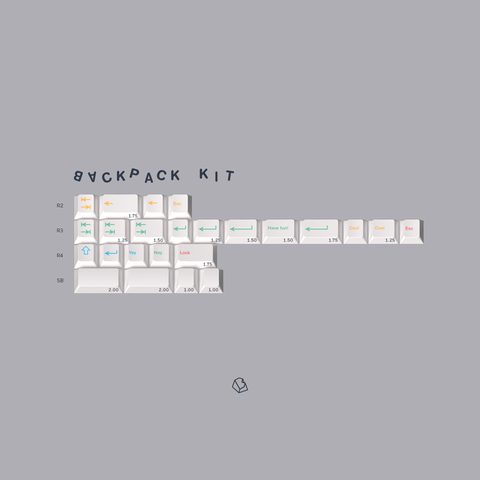 [IC] R2 EPBT X BIIP COOL KIDS KEYCAPS SET