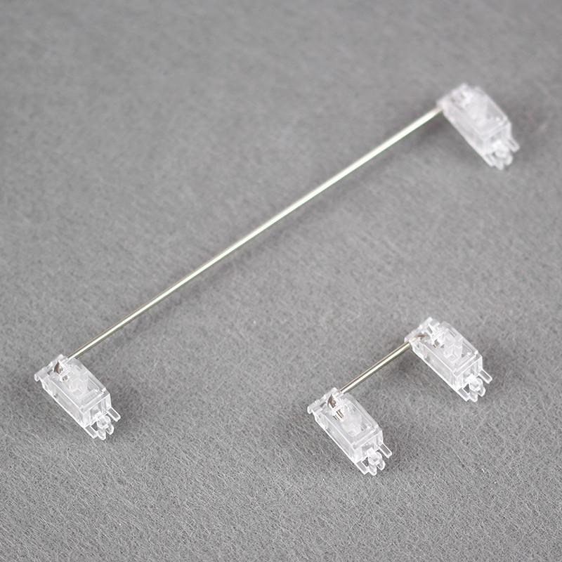 Transparent PCB stabilizers 2U 6.25U 7U