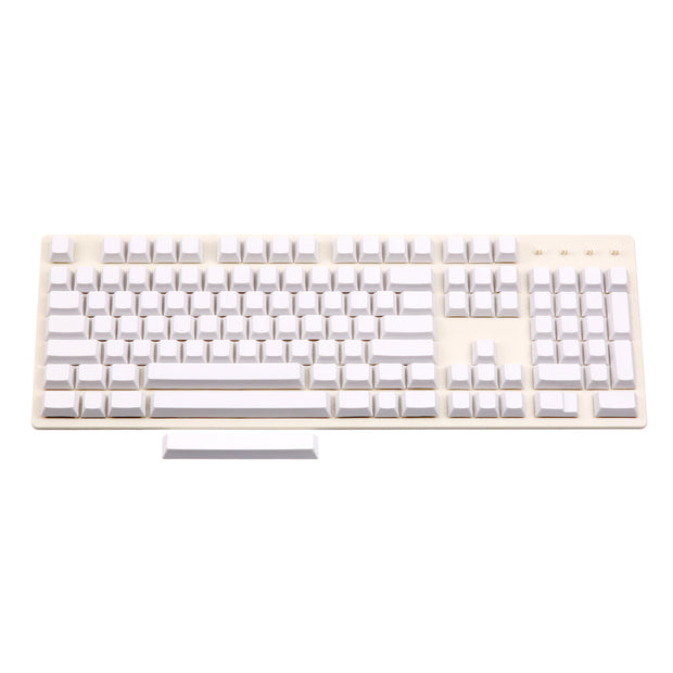 Enjoypbt white blank keycaps 117keys