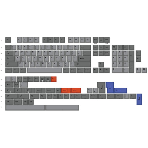 [In stock]EnjoyPBT Slate Keycaps Set (2177156612144)