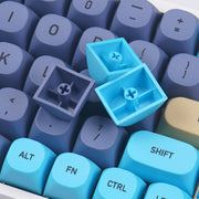 MA Blue Cat Keycaps Set