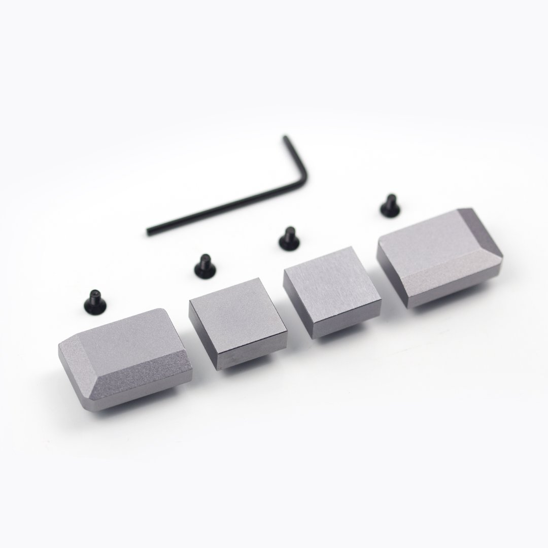 5° case aluminium blockers