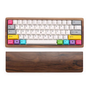Fully assembled Wood custom keyboard (3830039543856)