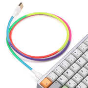 Rainbow  USB Cable (4369557323915)