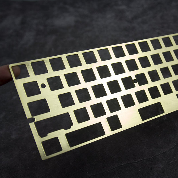hairline finish  brass 60%  plate