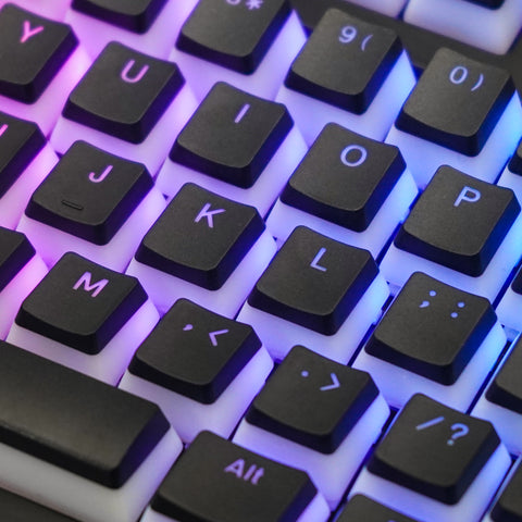BACKLIT MECHANICAL KEYBOARD TRANSLUCENT KEYCAP 143 keys