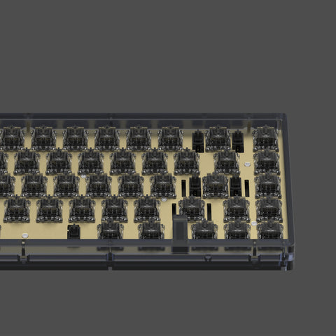 [GB]KBD67V2 MKII INK Black Polycarbonate diy kit